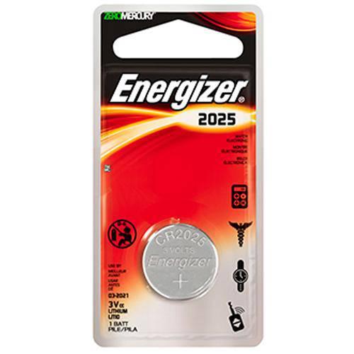 Bateria Cr2025 3v de Lithium 3v Energizer 64618
