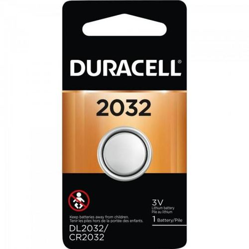 Bateria de Lítio Metálico C/ 1 Un. Cr 2032 Duracell