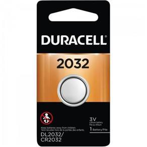 Bateria de Litio Metalico com 1 UN. CR 2032 Duracell