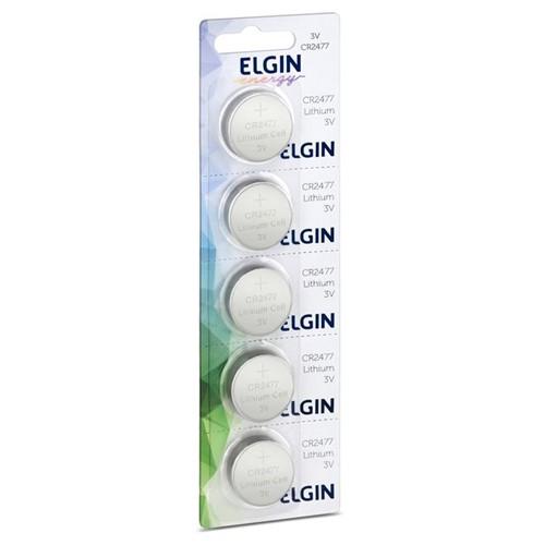 Bateria de Lítio 3v CR2477 82306 Elgin