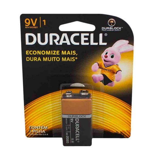 Tudo sobre 'Bateria Duracell 9v'