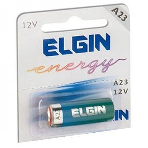 Bateria Elgin Alcalina para Controle Remoto 12V A23