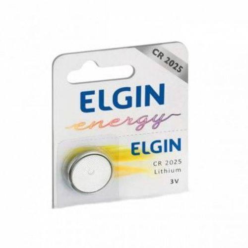Bateria Elgin CR2025 3V Lithium Unitario