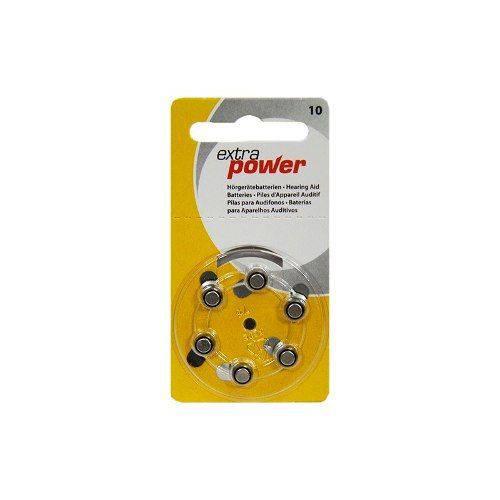 Tudo sobre 'Bateria Extra Power 10 / Pr70 - Cartela C/ 6 Unidades'
