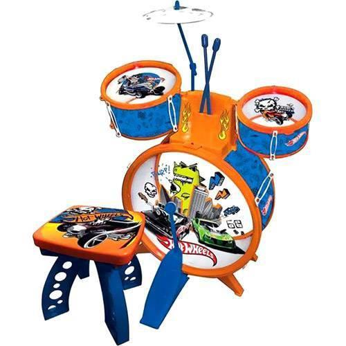 Tudo sobre 'Bateria Infantil Hot Wheels'