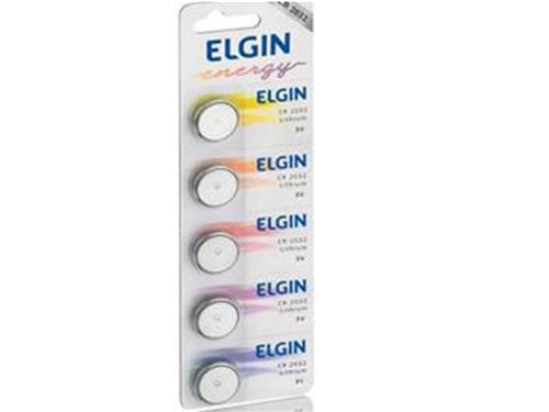 Bateria Litio Elgin Cr2032 , 5 Unidades