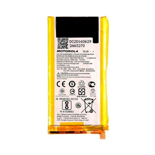Bateria Motorola Moto Z Play Xt1635 Gl40 - Original