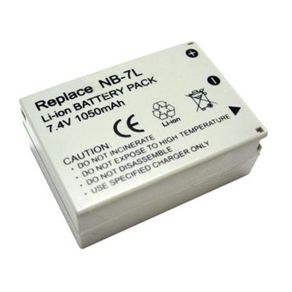 Tudo sobre 'Bateria NB-7L para Canon'