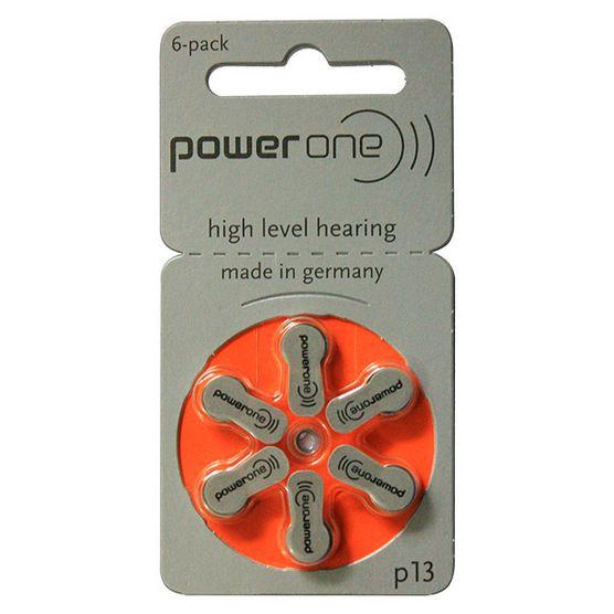 Tudo sobre 'Bateria P/ Aparelho Auditivo Power One P-13'