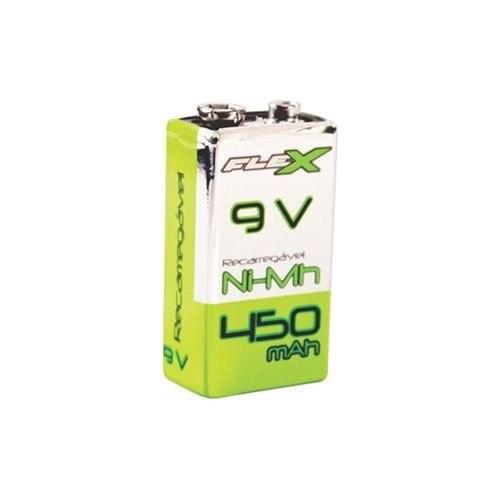 Tudo sobre 'Bateria Recarregavel 9V 450MAH FLEX'