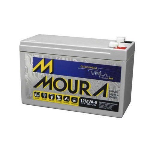 Tudo sobre 'Bateria Selada 12v 7amp 12mva-7 Moura'