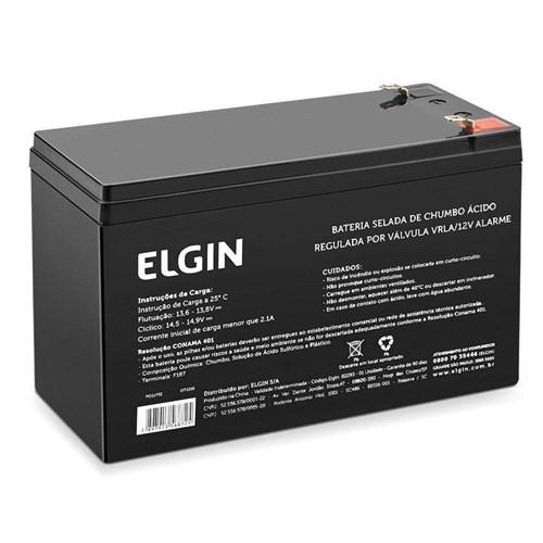 Bateria Selada Elgin 12V Alarme
