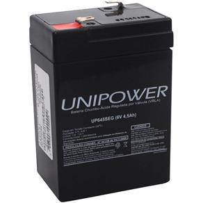 Bateria Selada Unipower 6v 4,5ah Mod Up645 Seg