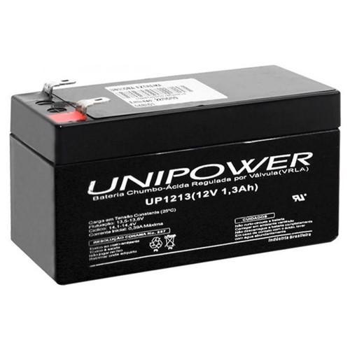Bateria Selada VRLA 12v 1,3AH F187 UP1213 06C001 Unipower