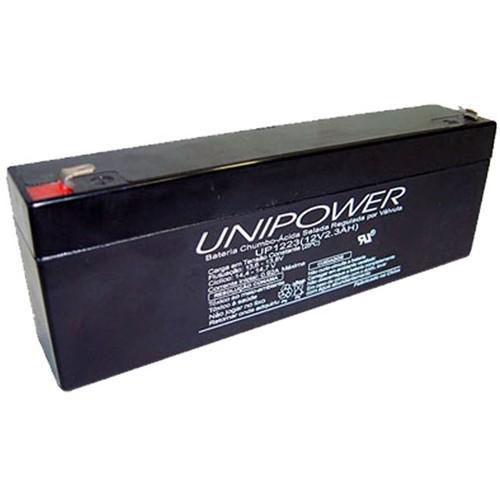 Bateria Selada VRLA 12V 2,3Ah F187 UP1223 - Unipower