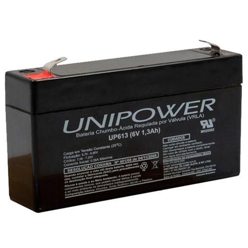 Bateria Selada VRLA 6V 1,3Ah F187 UP613 – Unipower