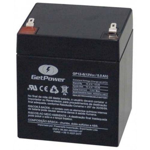 Bateria Selada Vrla (Agm) Getpower 12v 5,5ah