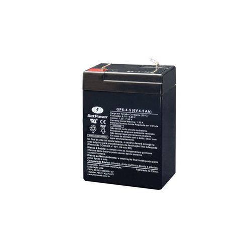 Bateria Selada Vrla (Agm) Getpower 6v 4.5ah