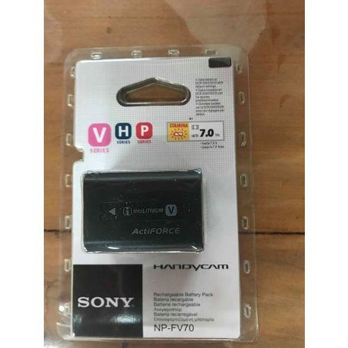 Bateria Film Sony Np-fv70 Original Fv30 Fv50 Fv100 Fh50 Fh70