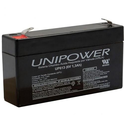 Bateria Unipower 6V 1.3 Up613 Nao Automotiva