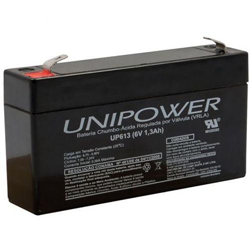 Bateria Unipower 6v 1.3 Up613 não Automotiva