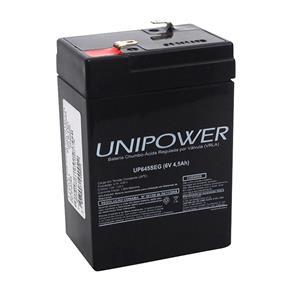 Bateria Unipower 6V 4.5ah para Segurança/ Nobreak