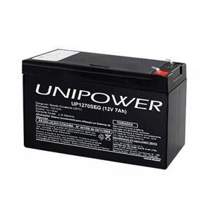 Bateria Unipower F187 - 12V - 7AH / UP1270SEG