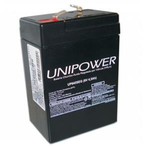Bateria Unipower F187 - 6V - 4,5AH- UP645 SEG