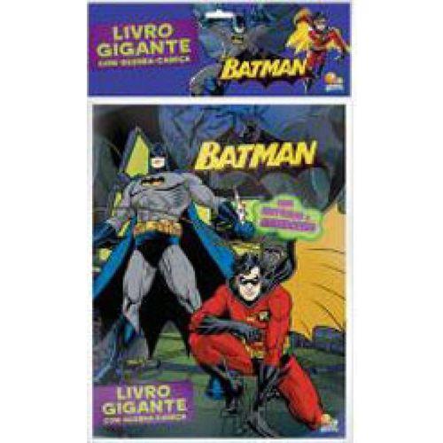 Batman - Livro Gigante com Quebra-cabeça