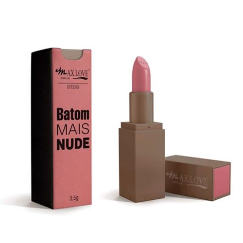 Batom Mais Nude Cor 257 - 3,5g - Max Love