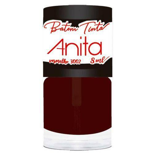 Tudo sobre 'Batom Tinta Vermelho Anita 8ml'