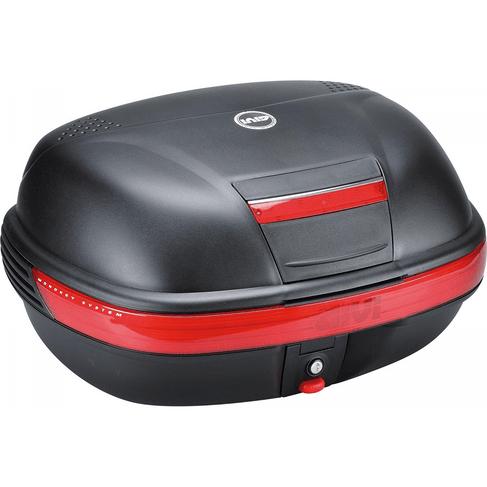 Tudo sobre 'Bau Givi E460N Monokey SIMPLY 46L Preto C/ Lente Vermelha'