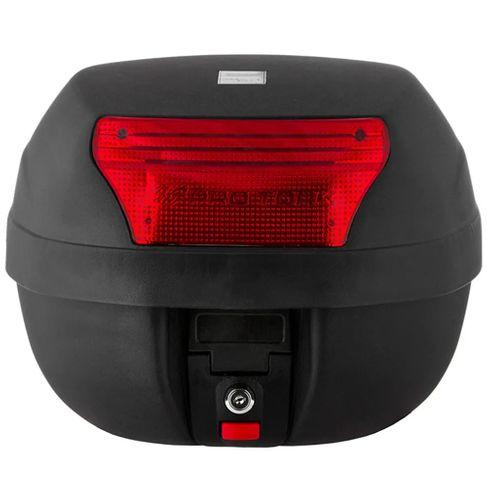 Tudo sobre 'Bau PRO TORK 28 Litros MOD. SMART BOX Preto C/ Lente Vermelha'