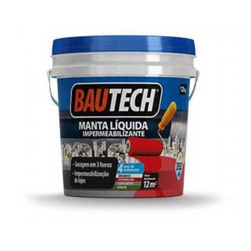 Tudo sobre 'Bautech Manta Líquida Cinza Concreto 4kg - Bautech'
