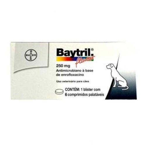 Baytril 250MG - 6/Comprimidos