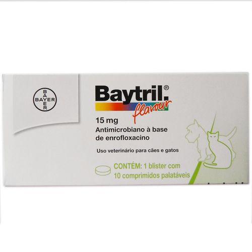 Baytril Comprimido 15mg