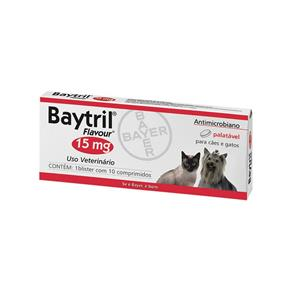 Baytril Flavour 15 Mg