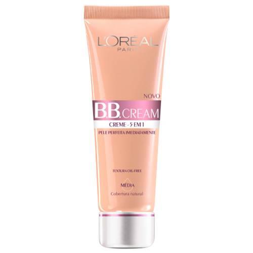 Tudo sobre 'BB Cream L'Oréal Paris FPS20 Cor Média'