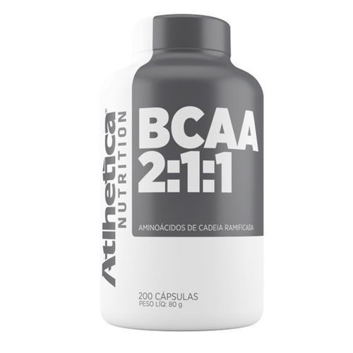 Bcaa - 200 Cápsulas - Atlhetica