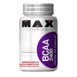 BCAA (200 Cápsulas) - Bodytrends Comer Suplem Alimentares LTDA