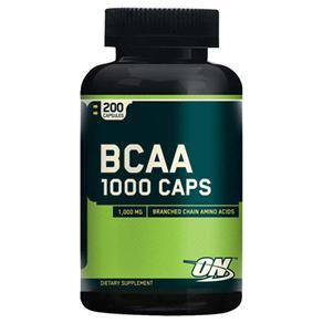 BCAA 200 Cápsulas Optimum Nutrition - 1000mg