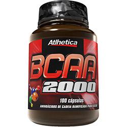 BCAA 2000 - 100 Cápsulas - Atlhetica