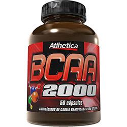 BCAA 2000 - 50 Cápsulas - Atlhetica