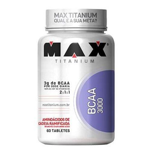 Bcaa 3000 - 60 Cápsulas - Max Titanium