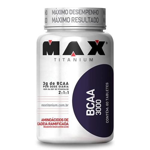 Tudo sobre 'BCAA 3000 (60tabs) Max Titanium'