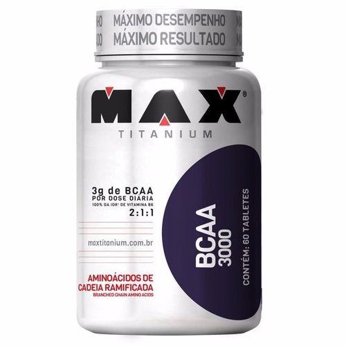 Bcaa 3000mg (60caps) - Max Titanium