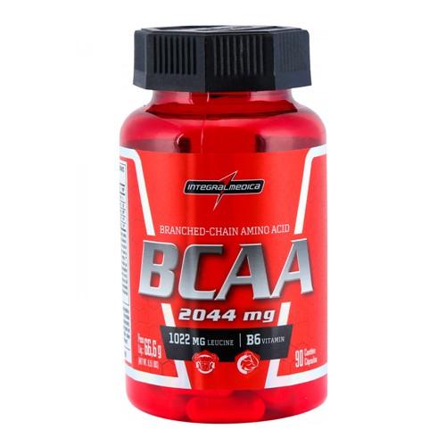 BCAA 2044mg Integralmédica 90 Cápsulas