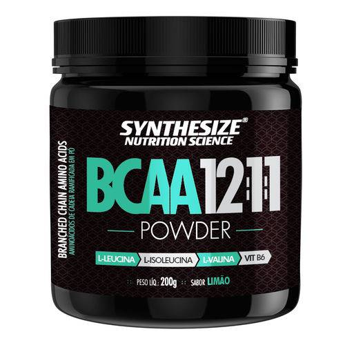 Bcaa 12:1:1 Powder 200G Limão - Synthesize Nutrition Science