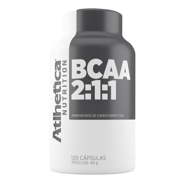 Bcaa 2:1:1 (120 Caps) - Atlhetica Nutrition