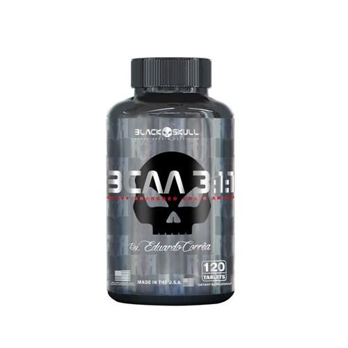 BCAA 3:1:1 (120 Caps) - Black Skull